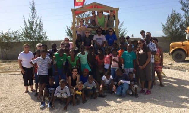 CHHS Grad Builds Playground For Haitian Orphanage