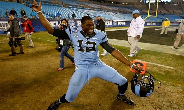 From Manning to Marquise: UNC's Quarterback Gets a Much Needed Pep Talk