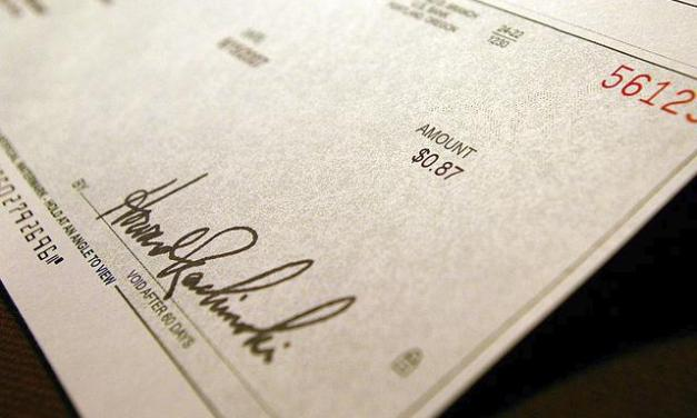 UNC Investigating Possible Check-Cashing Scam