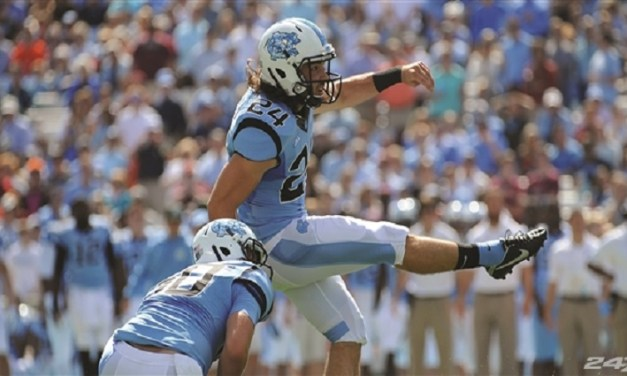 UNC Kicker Nick Weiler Named Semifinalist for Wooden Cup