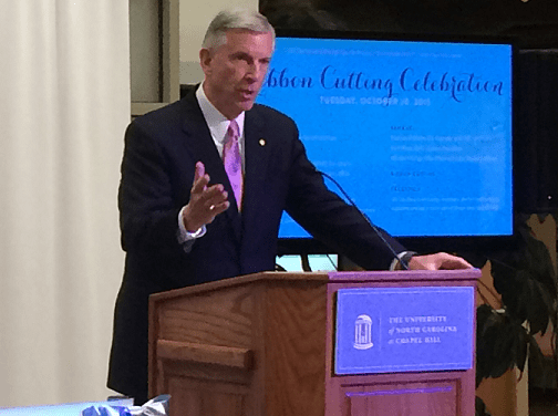 Tom Ross on UNC Presidential Search: 'I've Stayed Out of It'
