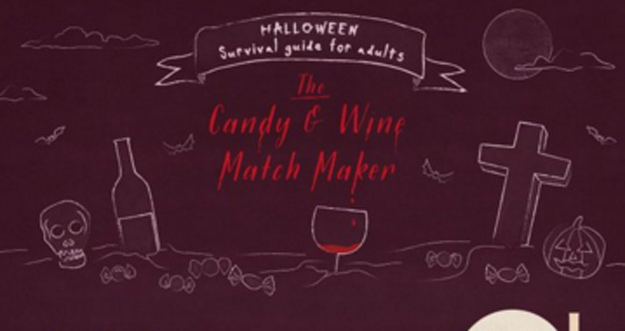 Pair Wine With Halloween Candy