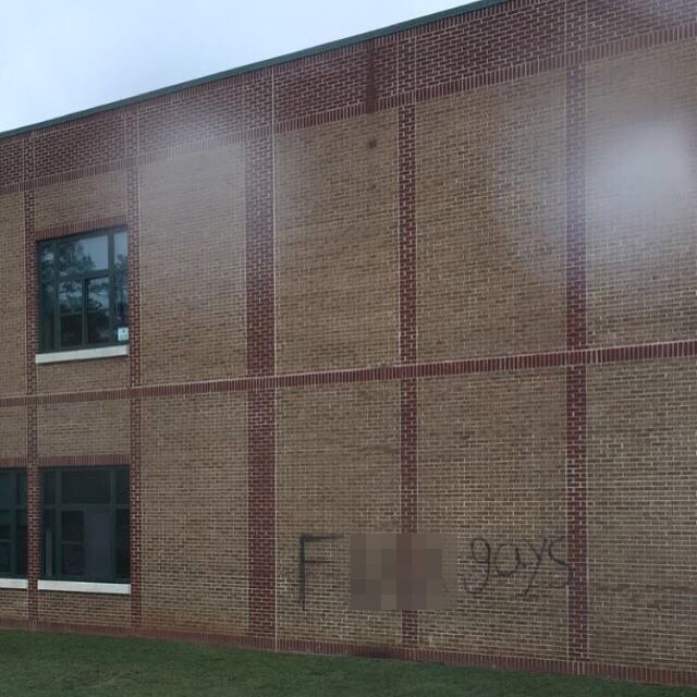 'F*** Gays' Spray Painted on East Chapel Hill High School Targeting Queer-Straight Alliance