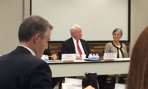 UNC Board of Governors Receives Briefing on Open Records Laws