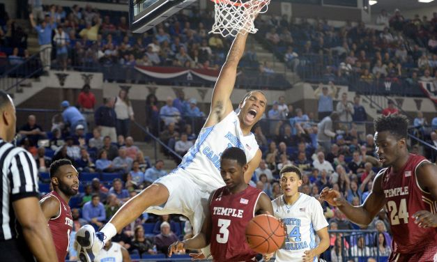UNC Shakes Off Slow Start, Beats Temple 91-67 to Open 2015-16