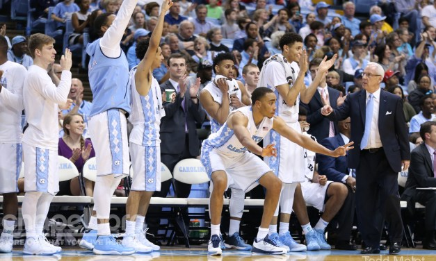 UNC Winning By Committee