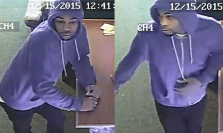 Durham Authorities Seeking Armed Robbery Suspect