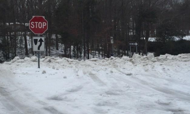 Precipitation Over But Roads Still Icy