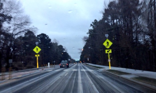 Orange County Crews Respond to 62 Accidents Due to Icy Roads