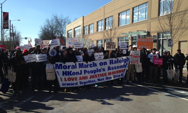 Thousands Attend Moral March on Raleigh