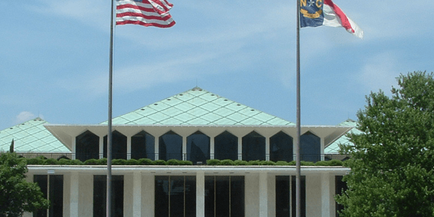 N Carolina General Assembly Quietly Reconvenes