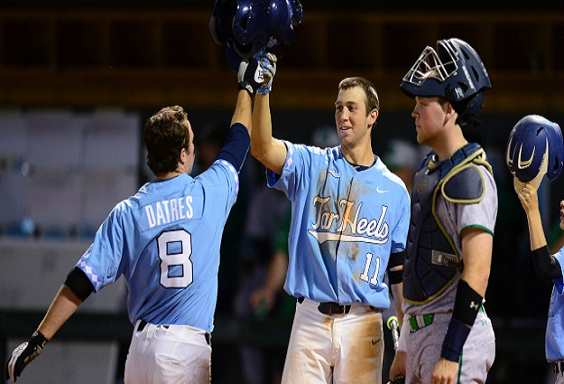 Diamond Heels Calm Down, Take Out Notre Dame for Important Series Win