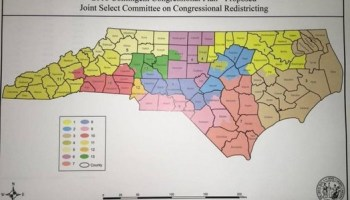 Supreme Court Strikes Down NC Congressional Districts - Us supreme court map