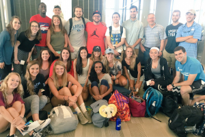 Dozens of UNC Students Covering Olympic Games in Rio