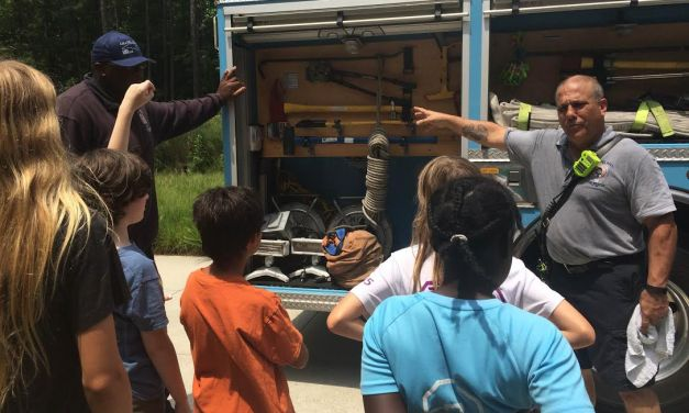 Chapel Hill Kids Learn the Science Behind Firefighting