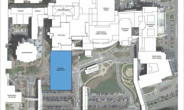 UNC Hospitals Announce Location for Surgical Tower Project