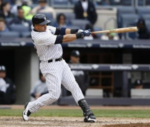 Carlos Beltran with the Yankees