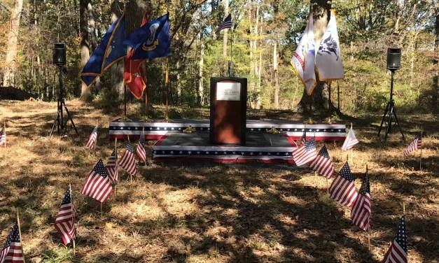 Orange County Veterans Dedicate Site for Future Memorial