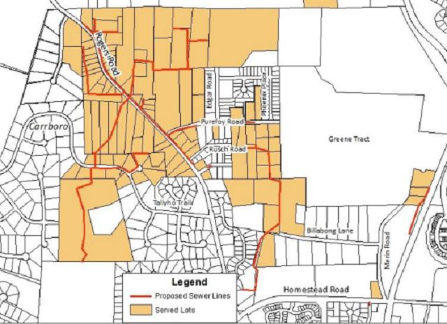Chapel Hill Approves Funding for Rogers Road Sewer Project