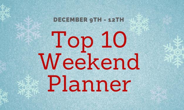 """Weekend """"Top Ten"""" Planner"""