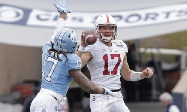 Stanford Stifles Trubisky and the Tar Heels, Holds On to Win Sun Bowl