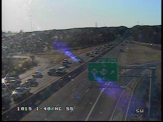 I-40 West Reopened in Durham After Wreck