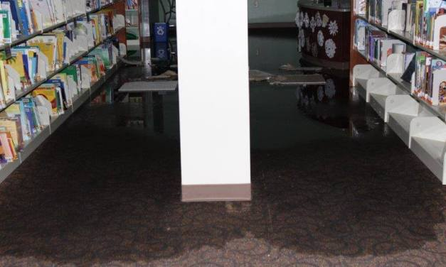 Orange County Library Hopes to Reopen Saturday After Flooding