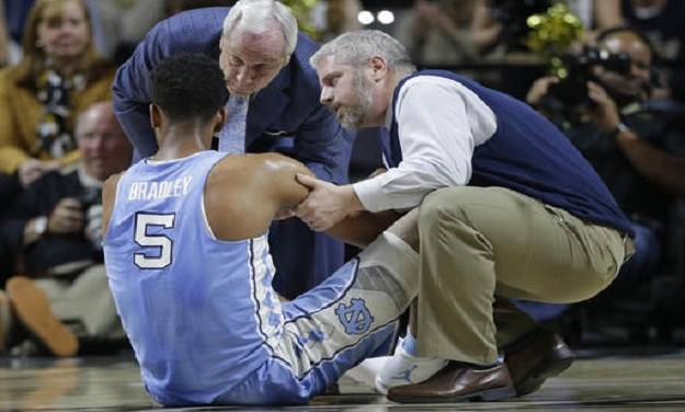 Tony Bradley Out for UNC's Showdown Against Florida State
