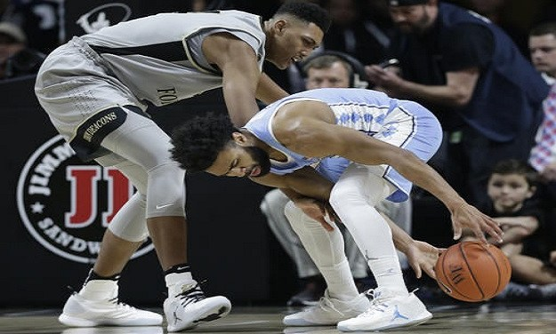 No. 11 UNC Nearly Blows 19-Point Second Half Lead, Pulls Together to Close Out Wake Forest