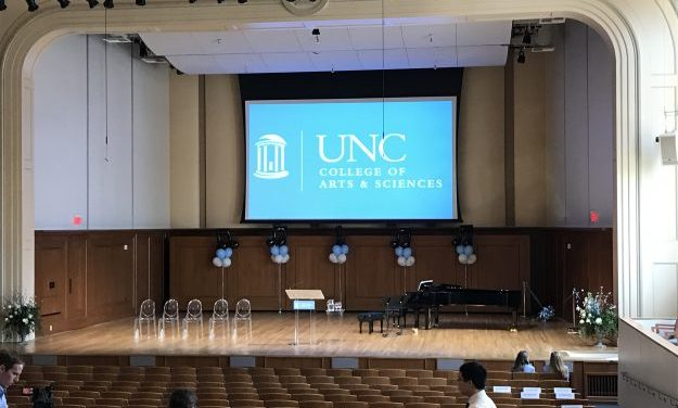 UNC's Hill Hall Gets New Look