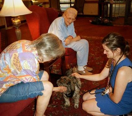 Giving Back To The Community Through Pet Therapy