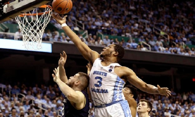 No. 12 UNC Holds Off Notre Dame, Picks Up Win in Greensboro Coliseum