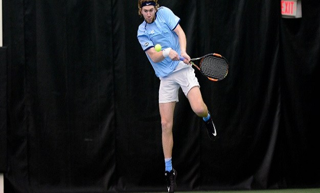 Top-Ranked Virginia Hands UNC Men's Tennis First Loss of Season in ITA National Indoor Semifinals