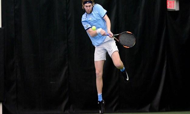 Top-Ranked Virginia Hands UNC Men's Tennis First Loss of Season in ITA National Indoor Semifinals