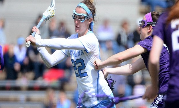 Late Spark Helps No. 2 Boston College Down UNC Women's Lacrosse
