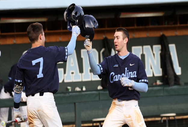 Tar Heels Move Up to No. 10 in D1Baseball.com Top 25