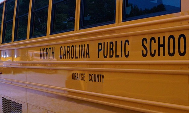 CHCCS Bus Involved in Monday Morning Wreck