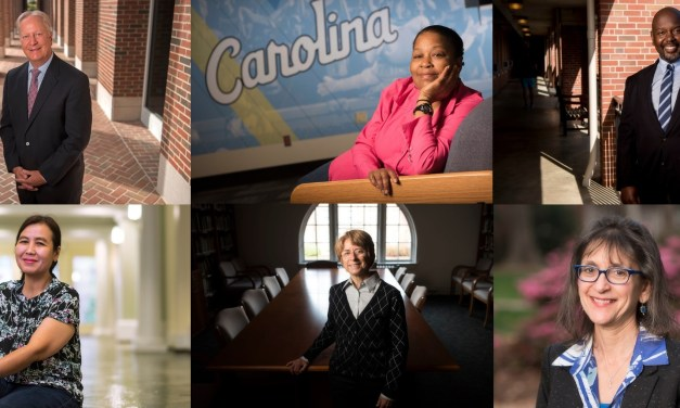 Distinguished Award Presented to Six Employees at UNC-Chapel Hill