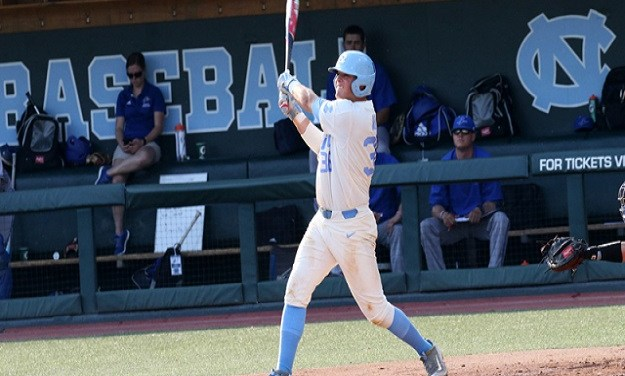UNC Baseball Makes Quick Work of UNC-Asheville, Wins Eighth Straight Game