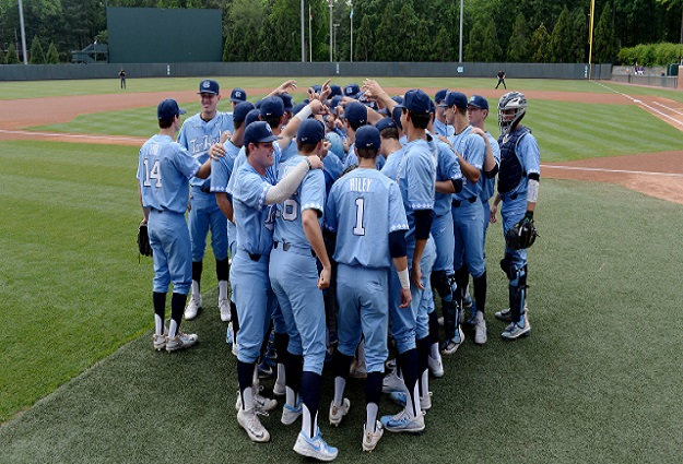 Diamond Heels Rise to No. 3 in D1Baseball Top 25