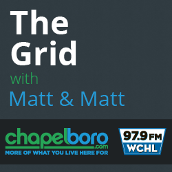 Hear all the action on the Grid with Matt & Matt