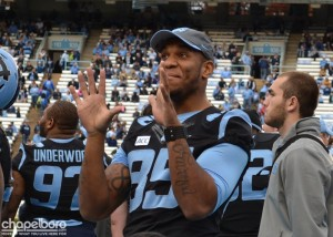 UNC Tight End Eric Ebron