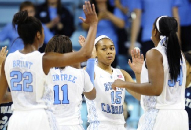 No. 13 UNC Women Edge No. 18 Florida St., 65-61