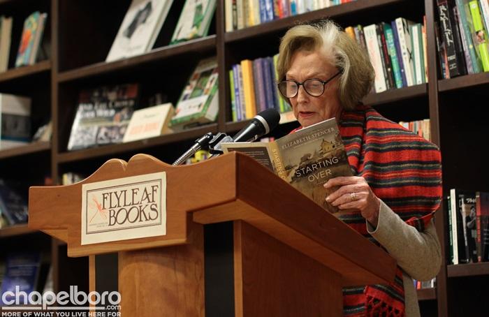 Elizabeth Spencer at Flyleaf Books