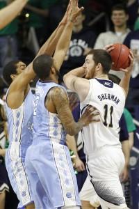 Intense defense. (Todd Melet)