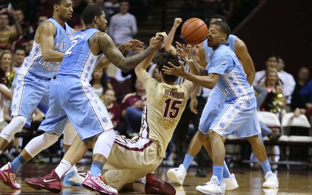 Coach Williams Gets ACC Win No. 300 as Tar Heels Win Seminole Slugfest, 81-75
