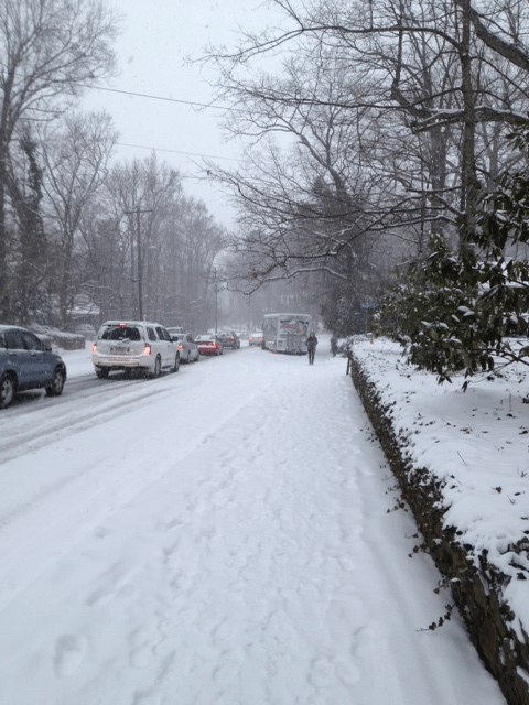 Chapel Hill Police: Please Move Your Stranded Cars