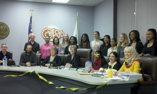 Carrboro Declares 'Lady Tigers Day' in Honor of 3A State Basketball Champs