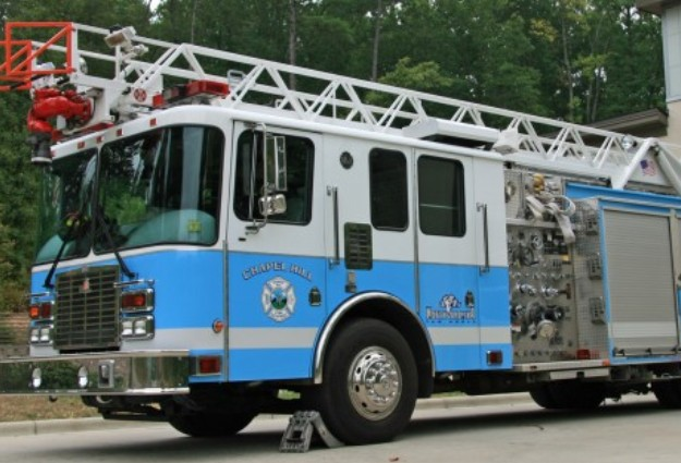 Firefighters Battle Heavy Chapel Hill Blaze
