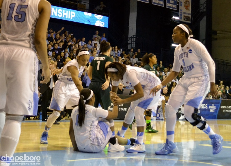 Oh So Close! Youthful Tar Heels Fall 74-65 To Veteran Cardinal Team In Elite Eight